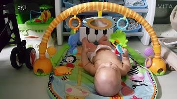 6개월 장난감은 아기체육관, 피셔프라이스가 최고~!!