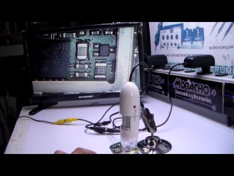 MICROSCOPIO DIGITAL herramienta para reparación de celulares y electrónica