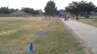 Brodie field day obstacle course