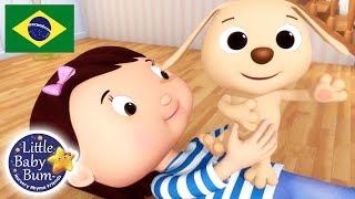 Canção do Cachorrinho   Little Baby Bum em Português   Canções para Crianças   Rima De Berçário