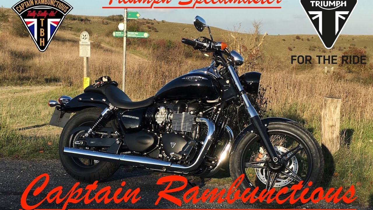 Old 2016 Air Cooled Triumph Speedmaster 1st Ride Review Youtube
