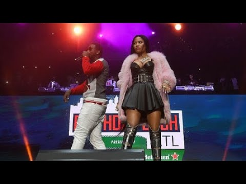 Gucci Mane & Nicki Minaj - Make Love & No Frauds - Hot 107.9 Birthday Bash 2017 - Atlanta (HD)