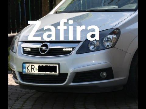 Demontaż zderzaka przedniego Opel Zafira B jak zdemontować zderzak