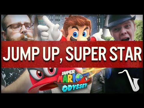 Super Mario Odyssey: Jump Up, Super Star! - Big Band Jazz Arrangement | insaneintherainmusic