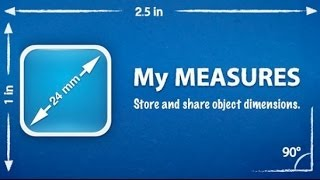 My Measures [iPad] Video review by Stelapps screenshot 2