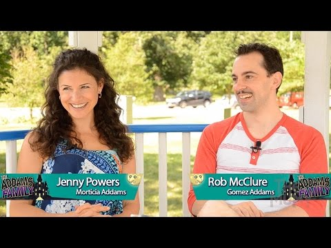 Meet Gomez and Morticia Addams! - Jenny Powers and Rob McClure