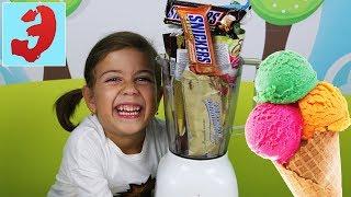 Мороженое Челлендж с Сникерсом всех видов с Фруктово- Шоколадними рожками Ice cream Challenge