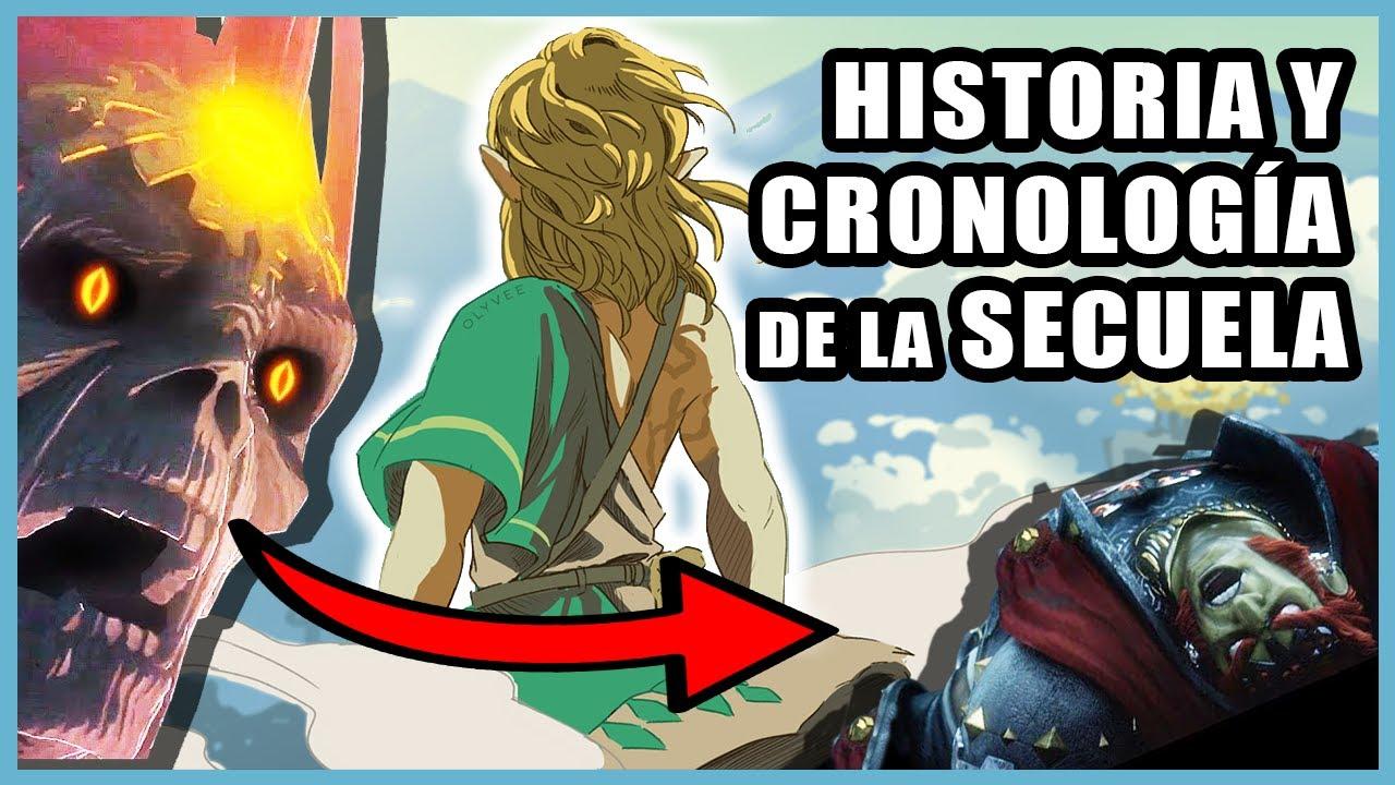 HISTORIA y CRONOLOGÍA de Zelda Breath of the Wild 2 - Teoría ( Nintendo Switch )   N Deluxe