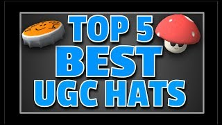 Top 5 UGC Hats (Roblox User Generated Content)