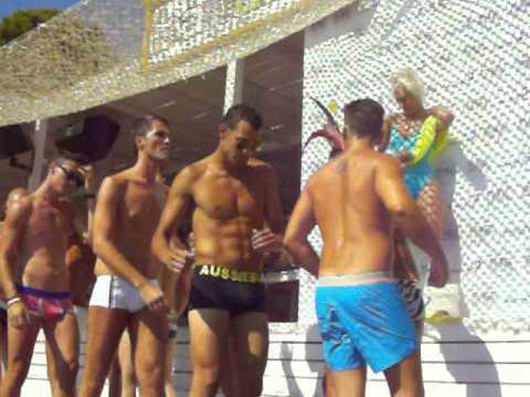 Teen boys using dildos