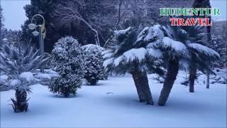 Snow in Azerbaijan