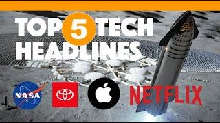 Top 5 Tech Headlines