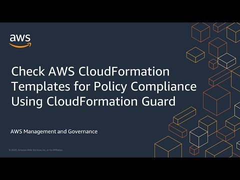 Check AWS CloudFormation Templates for Policy Compliance Using CloudFormation Guard
