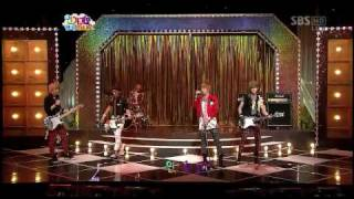 [HD] Ft Island & Kara - Fire + Pretty Girl ? Special Stage ? [Live] 090809