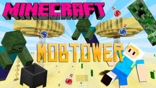 Minecraft : Mob Towers - Oque são e como funcionam ??