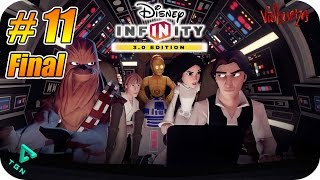 Disney Infinity 3.0 - Star Wars Rise Against The Empire - Capitulo 11 Final - 1080p HD