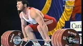 2003 105 Kg Clean and Jerk Part 2 of 2