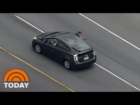 Murder Suspect Fires On Police During High-Speed Chase | TODAY