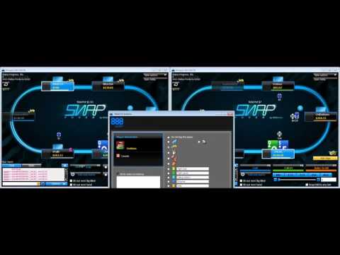 888 Poker - Snap (Fast fold / Zoom) Cash Game Strategy - Part 1