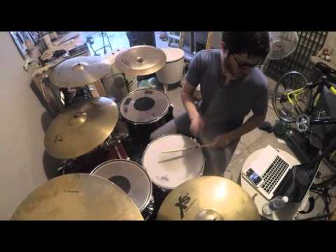 Thrice - The Melting Point of Wax- Drum Cover (8/11)