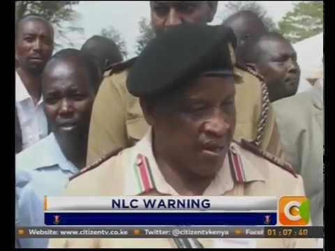 NLC stops development on disputed piece of land in Nakuru
