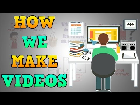 How we make Animated Videos using VideoScribe   100k Subscribers Vlog