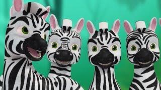 Zebra Song - Telugu Animal Rhymes for children | Infobells