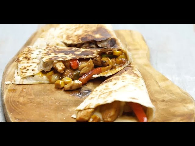 Tavuklu Quesadilla Tarifi, Nasıl Yapılır?
