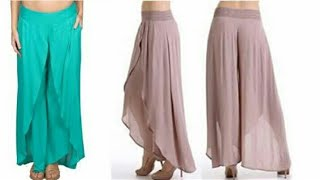 Tulip pants DIY | Tulip pants drafting, cutting and stitching step by step tutorial |