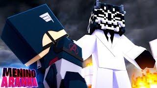 Minecraft: MENINO ARANHA - OS VINGADORES FORAM DERROTADOS!!! #336