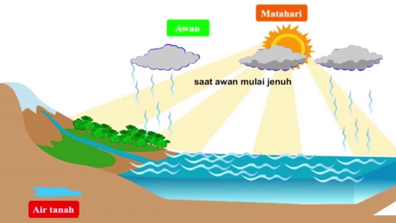 Gambar Animasi Kartun Hujan  Bestkartun