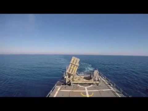Iron Dome of the Seas: Successful Interception by Tamir Adir System