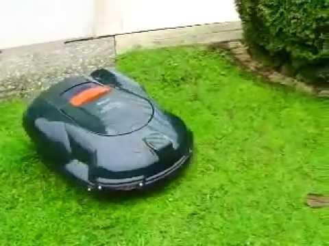 husqvarna automower g2 mit fernbedienung youtube. Black Bedroom Furniture Sets. Home Design Ideas