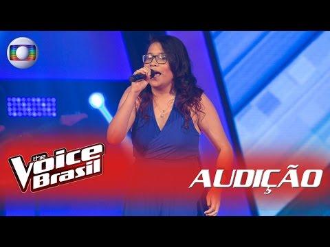 Laura Vieira canta 'Boa Sorte' nas Audições - 'The Voice Brasil'|5ª Temporada