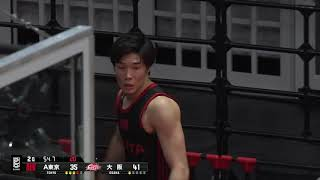 アルバルク東京vs大阪エヴェッサ|B.LEAGUE第21節 GAME1Highlights|01.26.2019 プロバスケ (Bリーグ)