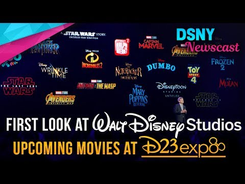 Everything In Disney's Movie Slate From 2017-2019 at D23 Expo - Disney News - 7/15/17