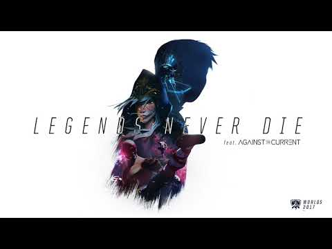 Thumbnail: Legends Never Die (ft. Against The Current) [OFFICIAL AUDIO] | Worlds 2017 - League of Legends