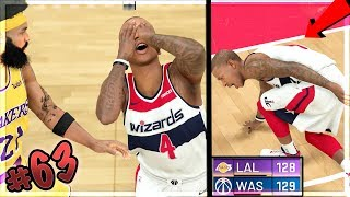 MOST INSANE ANKLE BREAKERS MAKE NBA STAR CRY!! 100+ Points! Game on Line! NBA 2k20 MyCAREER Ep. 63