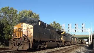 Gambar cover [HD] An Evening of CSX Trains in St. Denis, MD: 10/26/13