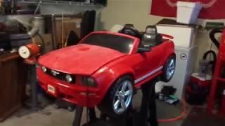 Red Mustang Power Wheels Revival thumbnail