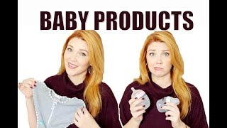 NEWBORN MUST HAVE PRODUCTS + REGRETS!