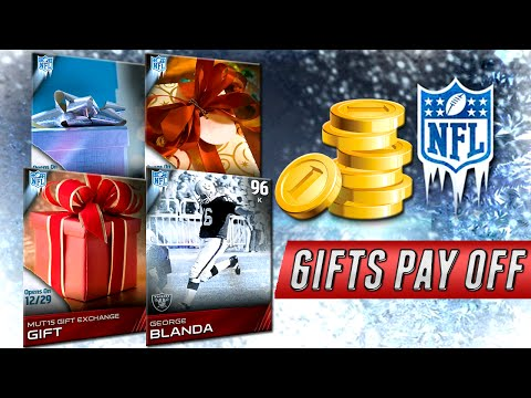 MUT 15 - Gifts Pay Off in Madden 15 Ultimate Team - George Blanda, Badge Packs & Coins!