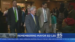 San Francisco Mourns After Sudden Passing Of Mayor Ed Lee