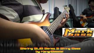 sterling sub series 5 string bass markbass by keng bassist