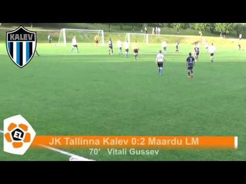 Esiliiga XIX voor: JK Tallinna Kalev 1:2 Maardu LM