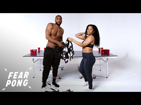 Exes Play Fear Pong (Reggie & Chey) | Fear Pong | Cut