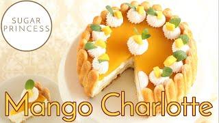 Schneller No Bake Mango Cheesecake / Leckere Mango Charlotte ohne Backen | Rezept von Sugarprincess