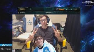 Sneaky and Meteos funny moments #17 Too much orange juice