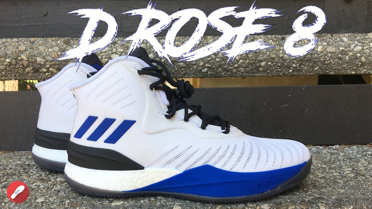 4e2cf9da8409 Adidas D Rose 8 First Impressions! - YouTube