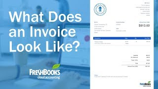 What Does an Invoice Look Like?